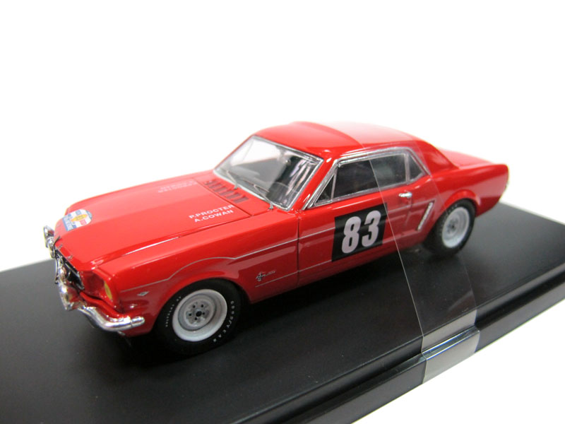 PREMIUMX 1:43 car model alloy toy car model FORD MUSTANG 83 FORD MUSTANG(China (Mainland))
