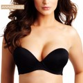 Brand New Hand Shape Ultimate Strapless Bra Black Beige 32 34 36 38 40 A B C D DD