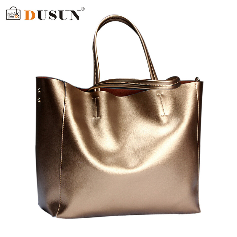 DUSUN women handbag genuine leather bags women leather handbags should