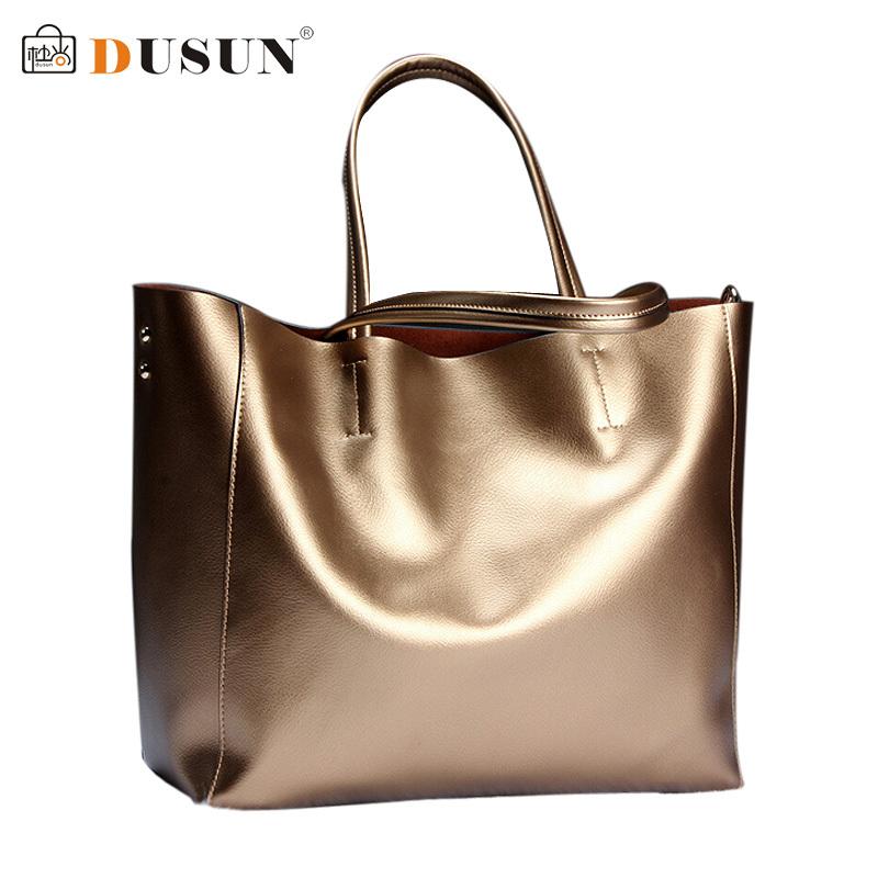 DUSUN Brand women Genuine leather bags Women Real leather Handbags Large Shoulder bags Designer Vintage bag Bolsas femininas(China (Mainland))