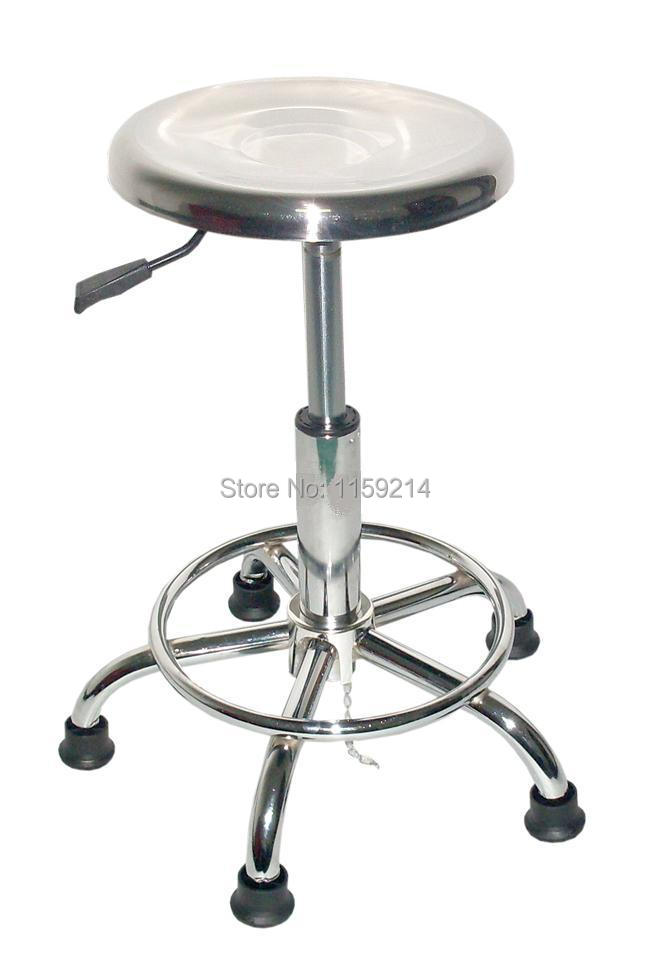 ESD anti-static stainless steel chair steel base laboratory chair dust-free workshop Pu foam<br><br>Aliexpress