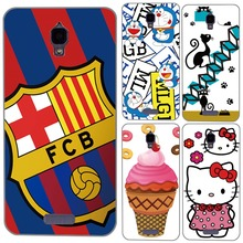 For Lenovo S660 case, Flower Football Club Cats Ice Cream Cute Painting Soft Silicon Back Cover Case For Lenovo S660 S 660
