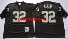 Throwback stitched Oakland Raiders Mitchell & Ness #marcus allen Ronnie Lott stabler Plunkett Darren McFadden fred biletnikoff(China (Mainland))