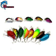 13 Pcs Lot Crankbait Carp Fishing Wobbler Lure 4.5/1.5G-4.5/3CM Swimbait Fishing Lure Set Fish Plastic Hard Isca Artificial Bait