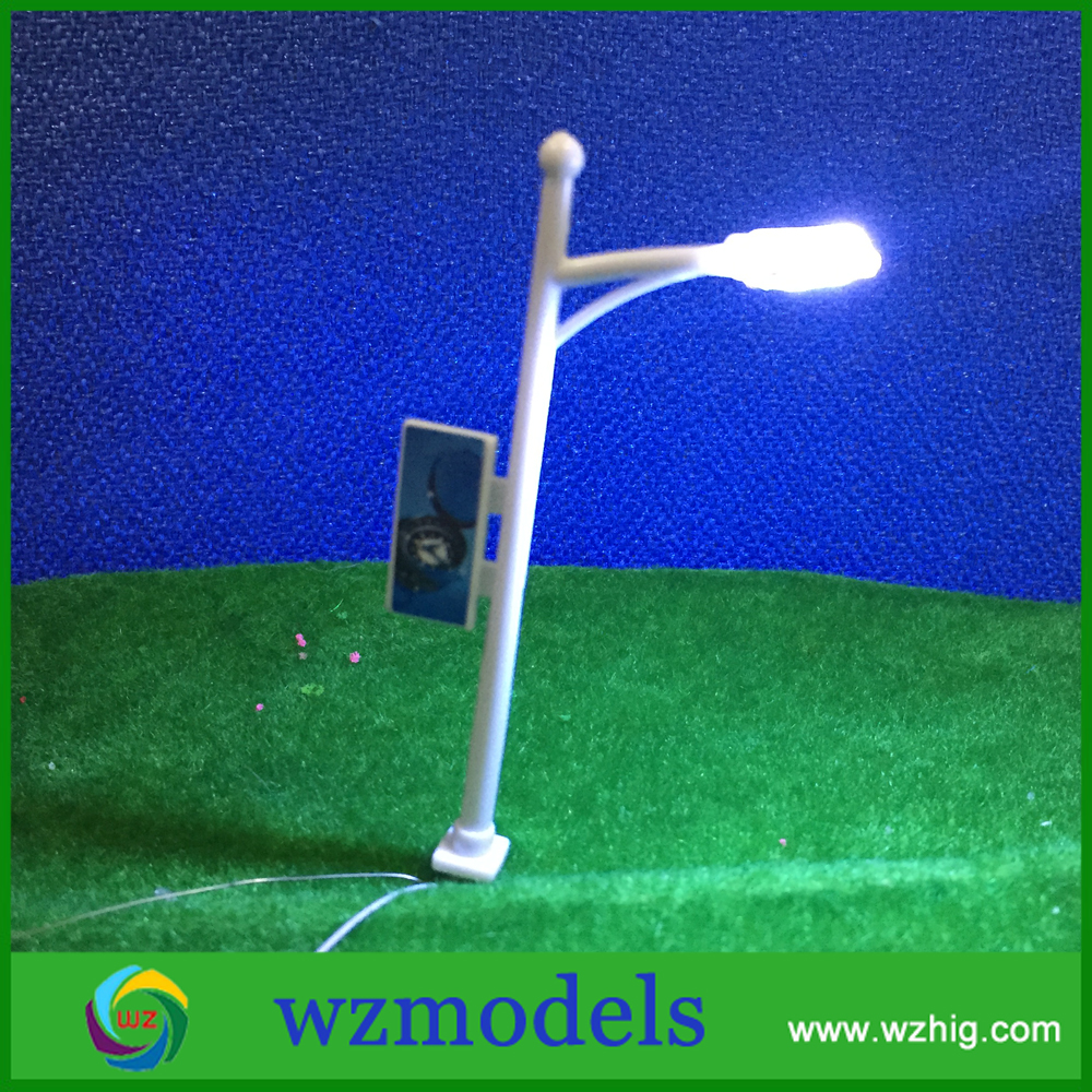 1:100 scale LED light model Railway Train Lamp Post Street Lights Architectural Model Scale Street Light<br><br>Aliexpress