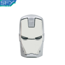 2015 New SFY Real Capacity  Iron Man 8GB 16GB 32GB Pen Drive Pendrive USB Flash Drive For PC Free Shipping