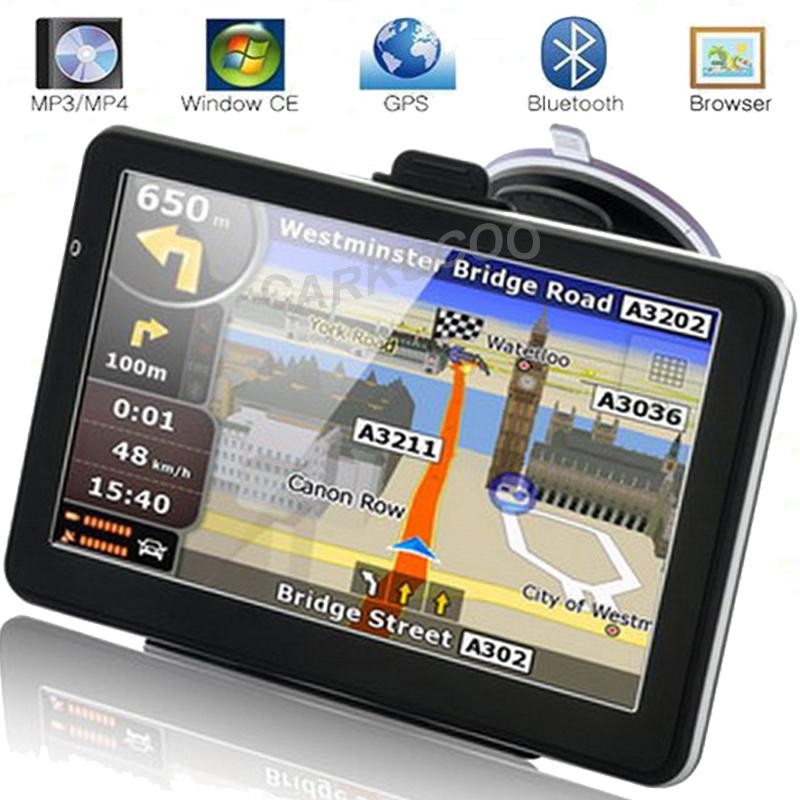 Portable Automobile Gps Navigation Bluetooth Av In Car Gps Navigator Sat Nav Gb M Maps Ru Us Europe Navigators For Tourist