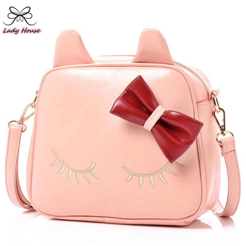 Fashion Cute Bow Belt Shoulder Bag Women Shoulder Bag Cute