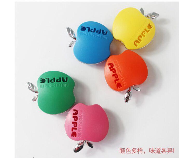 Lovely car air freshener perfume fragrance outlet perfume apple automotive supplies car perfume 1pc(China (Mainland))