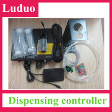 Dispensing machine for epoxy silicone sealant silicone rubber uv glue uv adhesive(China (Mainland))
