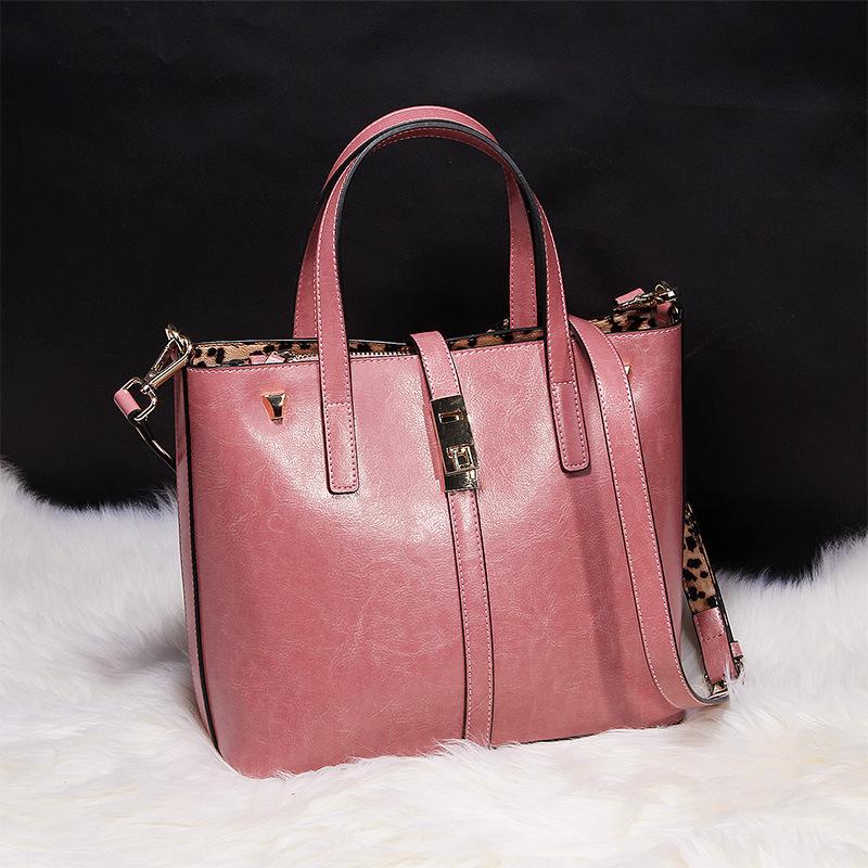 Designer brand handbag purse women genuine leather bag clutch female pink messenger bags 5color sacoche femme