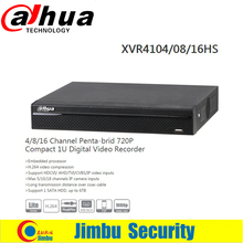 Buy DAHUA XVR4104HS/08HS/16HS Channel 1080P 1U Digital Video Recorder Support HDCVI/ AHD/TVI/CVBS/IP video inputs Support 1 SATA HDD for $98.00 in AliExpress store