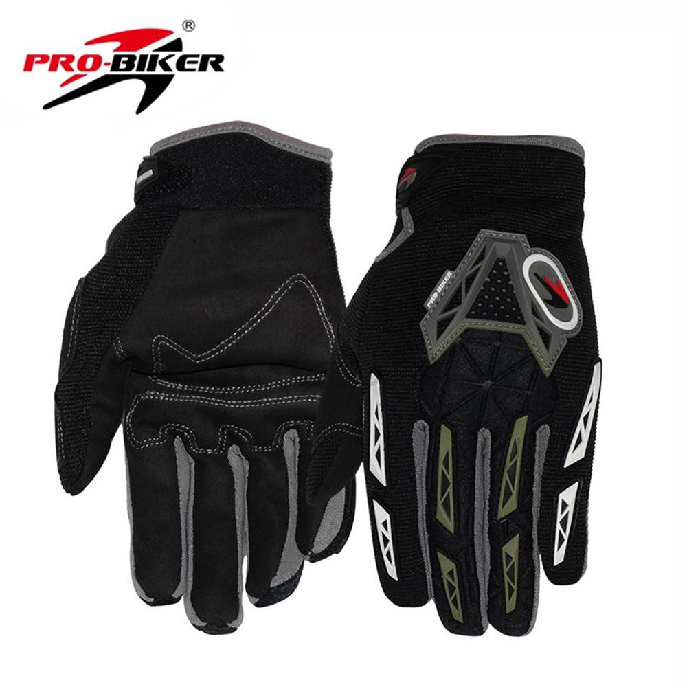 PRO-BIKER Motocross Scooter Motorcycle Gloves Motorbike Off-road Racing luvas Riding Bicycle Road Dirt Bike Cycling Gloves(China (Mainland))