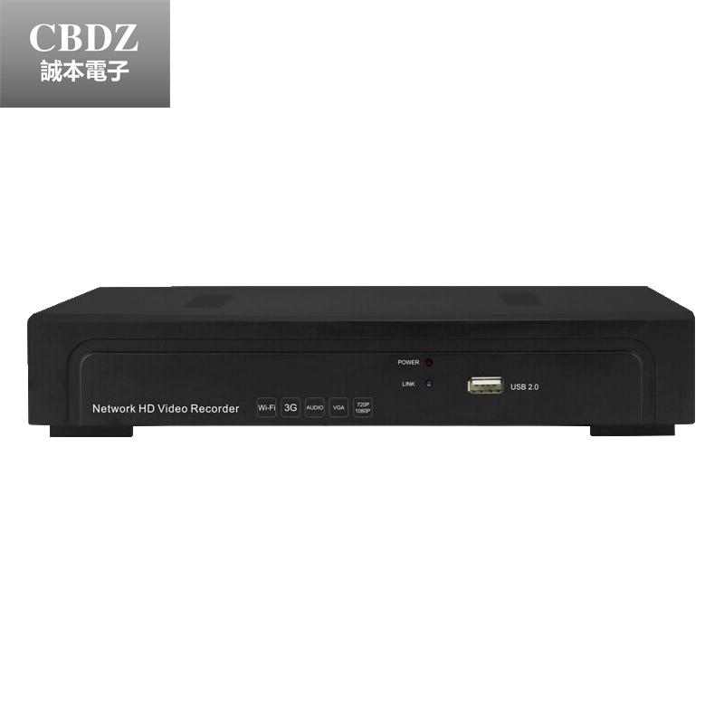 Гаджет  4CH POE NVR with HDMI support P2P Cloud ONVIF network recorder 720P/960P/1080P Multiple Screen Display, Full HD Recording  None Безопасность и защита