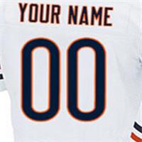 100% stitched Mens Customized elite jersey,#17 ALSHON #94 LEONARD #13 KEVIN #34 WALTER Blue and white Jersey(China (Mainland))