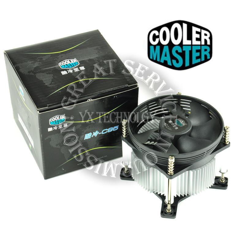A93 silent fan copper CPU heatsink LGA775 cooler(China (Mainland))