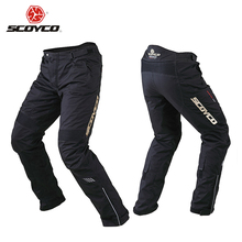 SCOYCO Winter Warm Waterproof Windproof Racing Trousers Motorcycle Touring Riding Pants with Removable Liner and Knee Protector(China (Mainland))