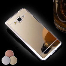 Samsung Galaxy J1 J110 J2 J3 SAMSUNG J5 J7 Case 2016 Cases Luxury NEW Mirror Clear TPU Silicon Phone Cover - JFVNSUN Factory Store store