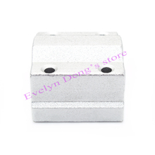 Free shipping 4pcs lot 3D printer SC8UU SCS8UU 8mm Linear Ball Bearing Block CNC Router