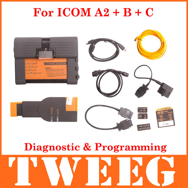 2014 Quality A Diagnostic And Programming Tool For ICOM For BMW ICOM A2 B C ISIS Coding Diagnose Full Set Interface ISTA(China (Mainland))