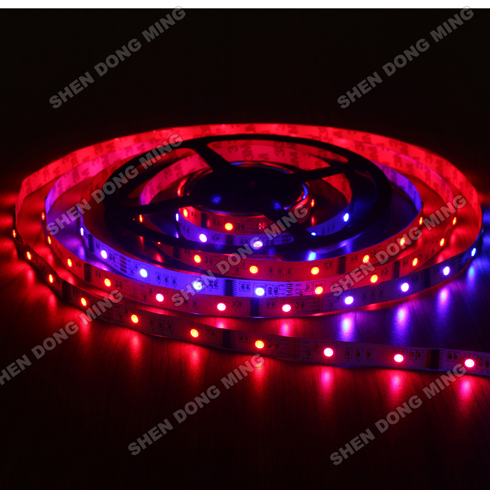 Lowest price 5M colour changing led strip LPD6803 RGB led strip lights 10IC dream color Led Pixel Strip 30Leds LED Digital Strip