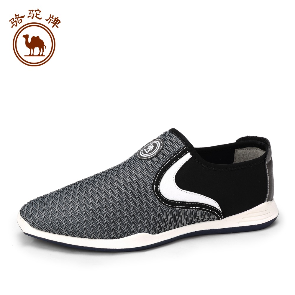 Camel mens shoe 2016 spring new Korean version  casual shoes mesh  breathable outdoor shoes slip-on travel shoes male <br><br>Aliexpress