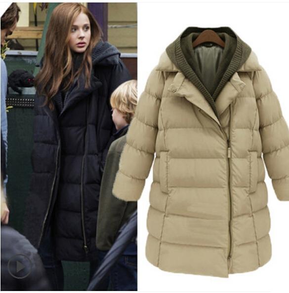 Новый 2016 высокое качество зимнее пальто женщин плюс Размер от S до XXXXL ватные пальто свободные Pattern повседневная женская куртка FC1569