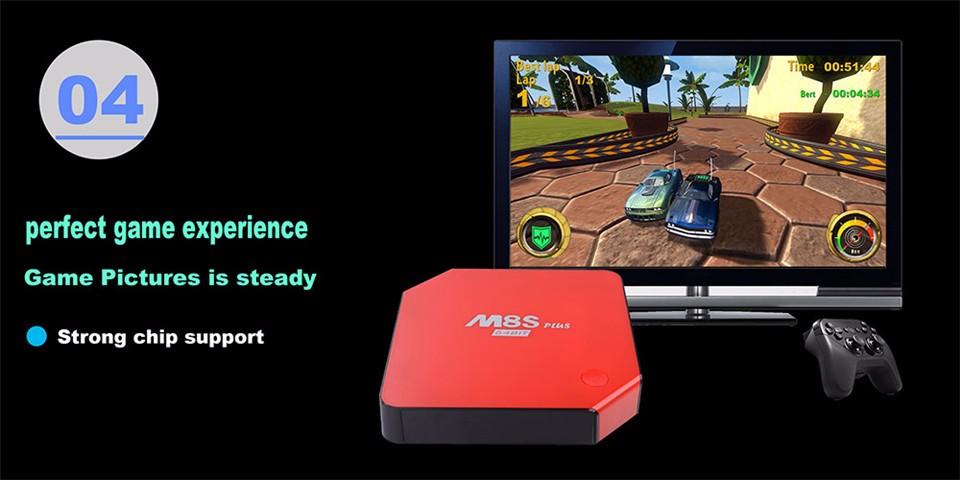 M8S PLUS Amlogic S905 Android5.1 4k Smart TV Box 2G16G 2.4G5.8G WIFI Gigabit LAN KODI Bluetooth DOLBY TrueHD (16)
