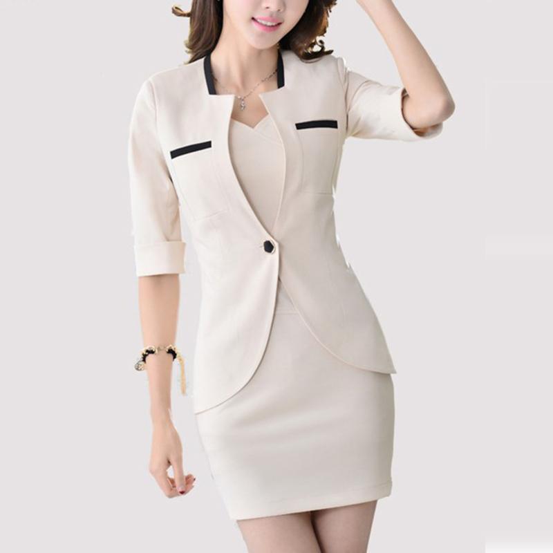2015 women blazer feminino jacket made of cotton & spandex suit jacket Women OL Formal Slim blaser feminino Free shipping(China (Mainland))