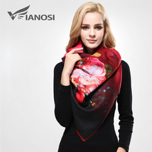 [VIANOSI] Newest Design Bandana Printing Winter Scarf Women Shawls Thicken Warm Scarves Wool Brand Scarf Woman Wrap VA070(China (Mainland))