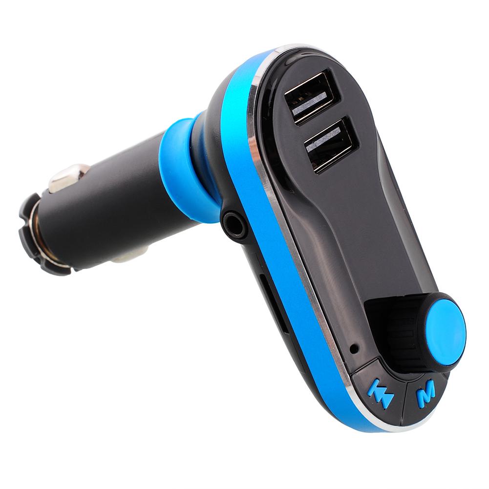 3-в-1 беспроводная связь Bluetooth карта FM передатчик mp3-плеер двухпортовый Kit зарядное устройство для iPhone