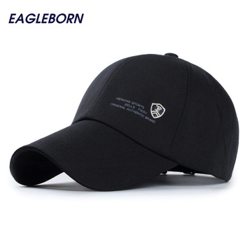 Outdoor casual baseball cap men genuine sports letter shield logo snapback caps cotton sun fashion running hats for men