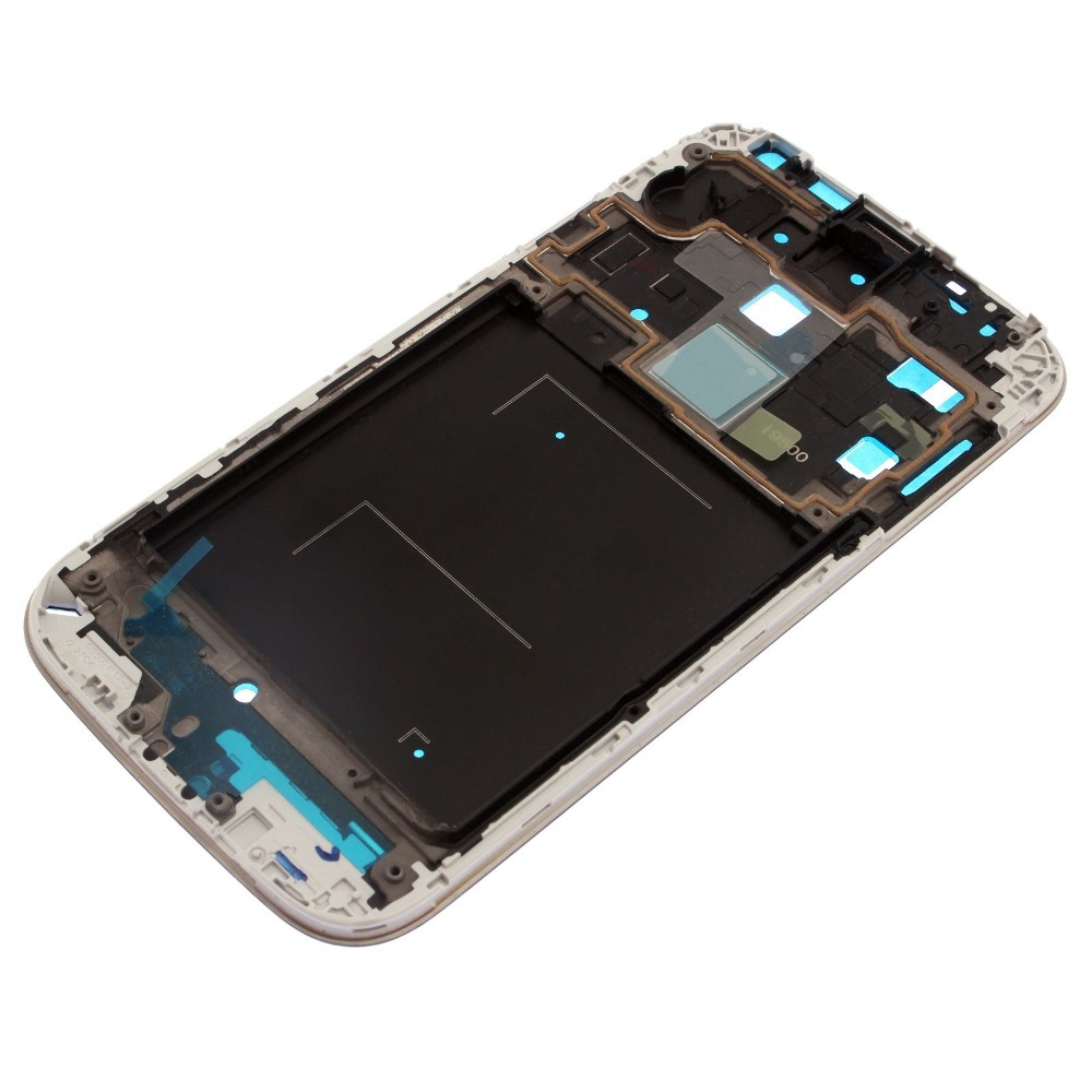 For Samsung Galaxy S4 SIV GT-I9500 Front Housing Frame Bezel Plate Middle Frame Genuine New+tools 82761