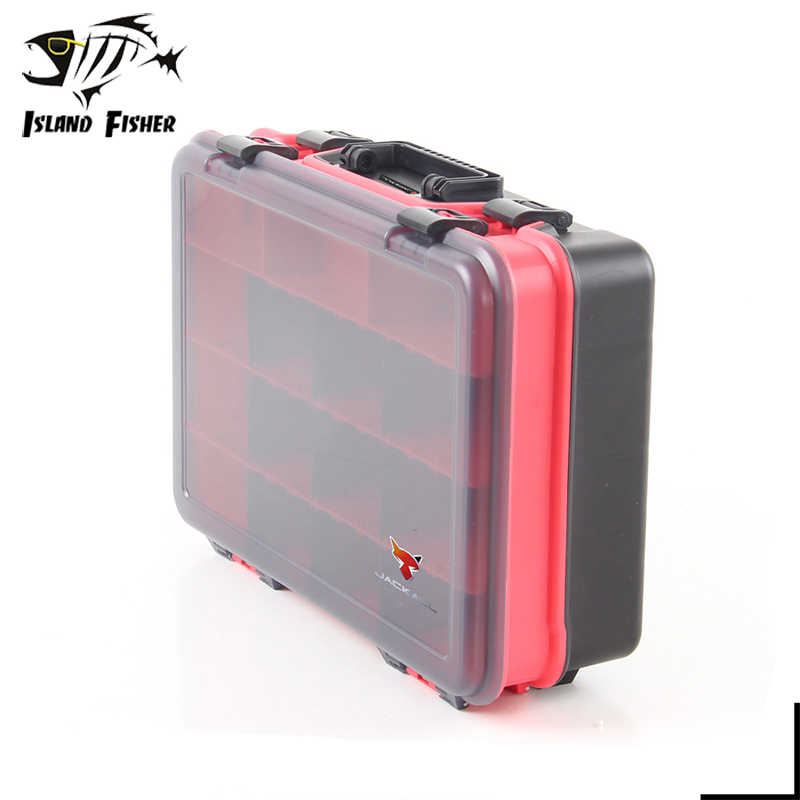 Jackall multifunctional big bait box for fishing tackle for Large tackle boxes for fishing