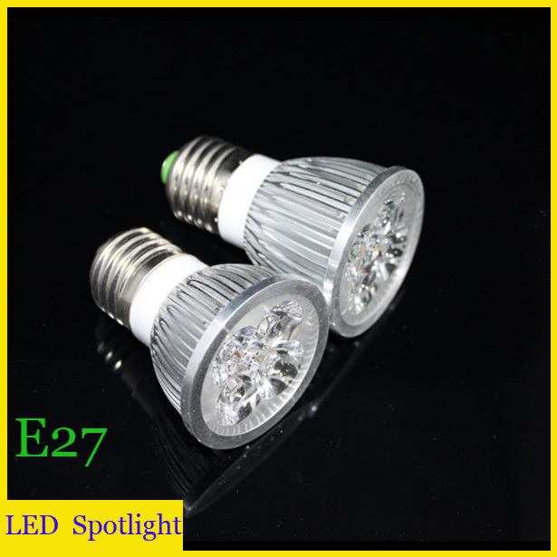 (10pieces/lot) led E27 3W/4W/5W LED Spot Light Warm/white Spotlights High Brightness 220V - ZEROGEM Lighting Co., LTD store