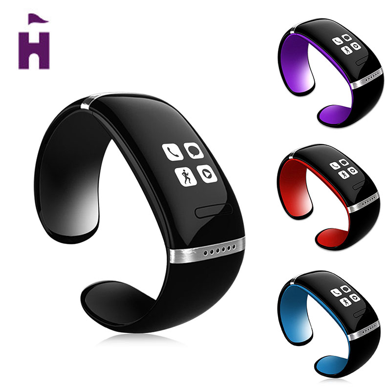 Excelvan L12S Smart Bracelet OLED Sports Pedometer Smart Wristband Bluetooth Smart Watch Wearable Devices For Android Phone
