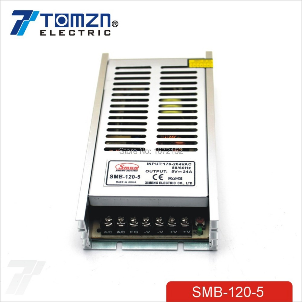 120W 5V 24A Ultra thin Single Output Switching power supply for led Strip light<br><br>Aliexpress