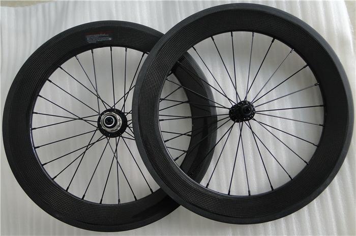 bicicleta plegable 20er 406 Carbon BMX Wheel rim V Brake for Folding Bike cycling rider Ceramic bearing Best selling Canada shop(China (Mainland))