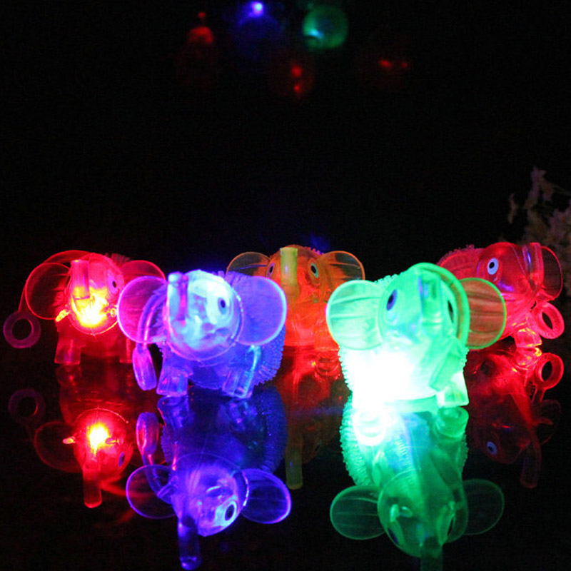 2017 Lovely Squidgy Stress Balls Animal Elephant Squeeze Stretch Throw Light up Home Office Kids Toy Gift(China (Mainland))