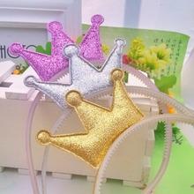 New Children Hair Accessories Lovely Crown Shaped Headband Princess Baby Hair Band Children Accessories Cute Hair Band