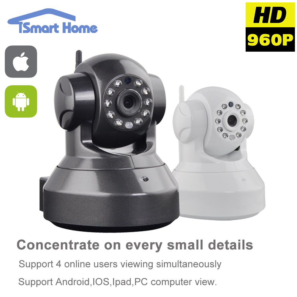 Onvif HD 1.3 Megapixel Wifi IP Mini Camera PnP P2P Wireless Network Micro Camera Night Vision Indoor Home Protection Audio Cam<br><br>Aliexpress