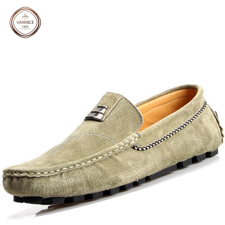 2015 spring men shoes fashion suede mens loafers casual moccasins male size 38-44 genuine leather loafers moccasins.<br><br>Aliexpress