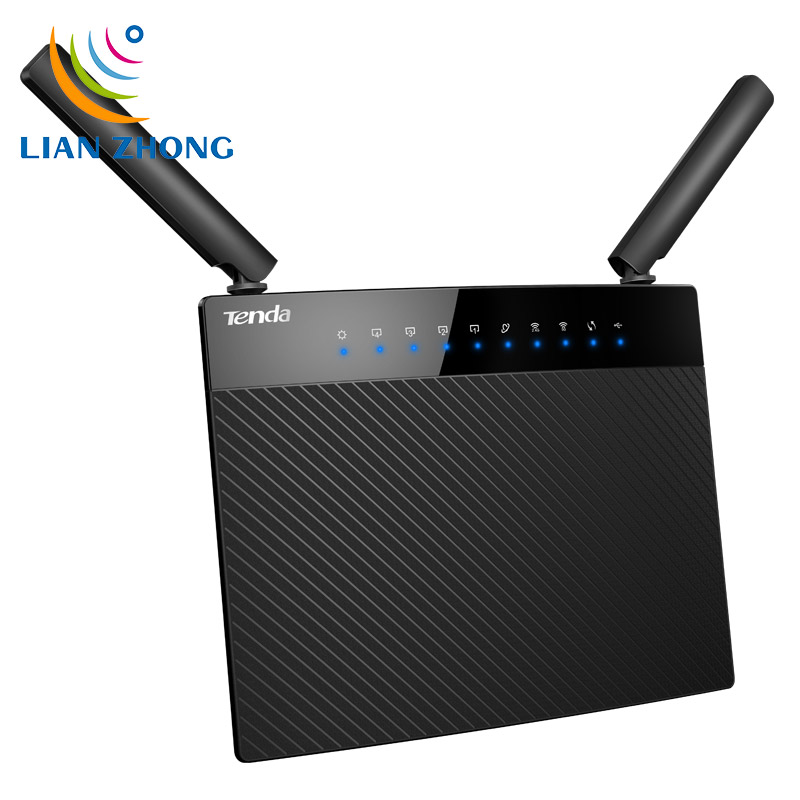 Tenda AC9 Dual Band WIFI Router 1200Mbps 2.4GHz/5GHz 300Mbps+900Mbps With USB3.0 Wi-Fi 802.11ac Remote Control APP English(China (Mainland))