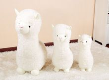 35cm alpaca plush toy, alpaca throw pillow best birthday gift for girlfriend,car decoration