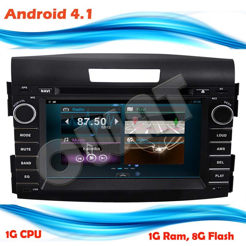 New arrival!Capacitive screen Android 4.1 car DVD GPS player WIFI/3G/BT/RADIO/IPOD/ATV/8G flash/1G Ram/1G CPU(China (Mainland))
