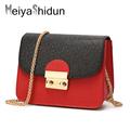 MeiyaShidun Women Messenger Bags Handbags luxury Brand Mini Shoulder Bag Woman Crossbody Chain Bag Famous Designer