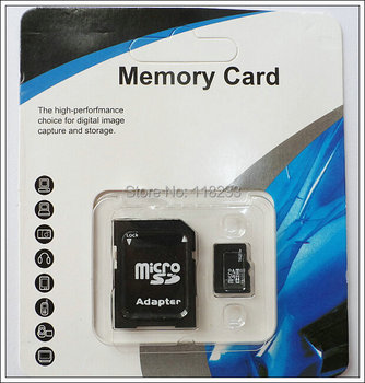Wholesales-2GB 4GB 8GB Memory card 16GB 32GB 64GB 128GB class10 micro sd card for cell phones tablet + package adapter