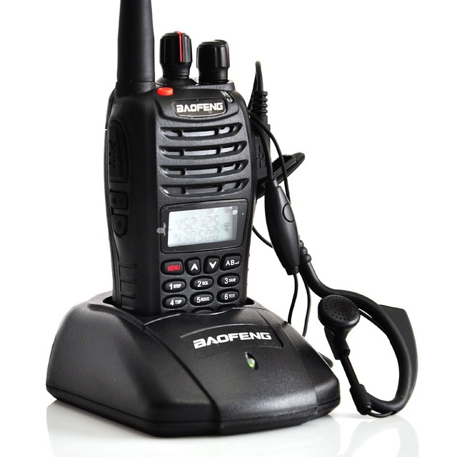 1 pc Baofeng UV B5 Walkie Talkie Radio 5W 99 Channels VHF136-174MHz & UHF 400-470MHz FM Portable Radio A1011A