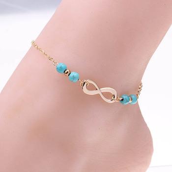 Новый лодыжке браслет ног ювелирные изделия браслеты tobilleras в форме сердца простой ...