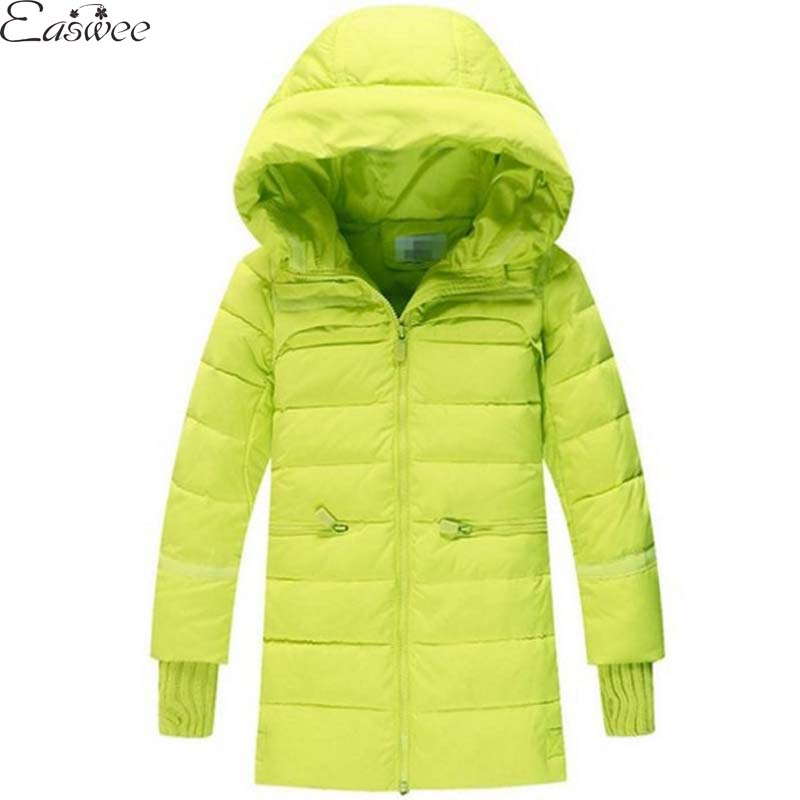 2015 Winter Jacket For Girls Cotton Padded Down Coat Children Outerwear Hooded Parka Retail 1PC ZZ3245<br><br>Aliexpress